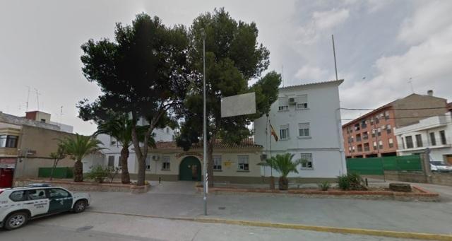Cuartel de la Guardia Civil de Picassent. Foto: Google Maps.