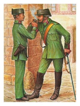 pareja-de-la-guardia-civil-antigua